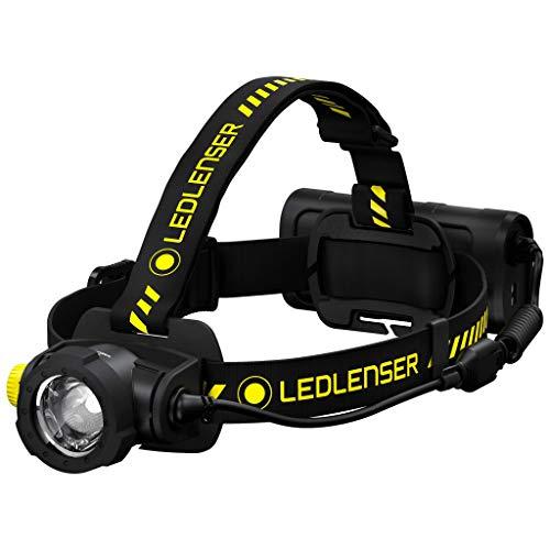 Ledlenser H15R Work, Stirnlampe LED, 2500 Lumen, Leuchtweite 250 Meter, mit Akku, wiederaufladbar, mit Gürtelclip,inkl. Magnetladekabel