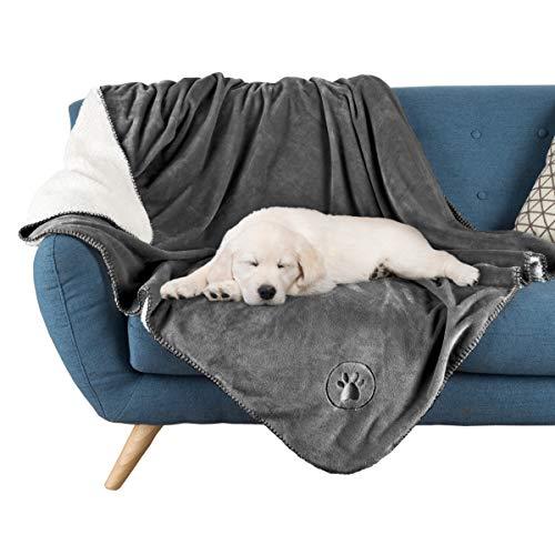 PETMAKER Waterproof Pet Blanket Collection– Reversible...