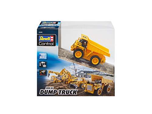 RC Baufahrzeug kaufen Baufahrzeug Bild 1: Revell Control 23495 RC Baufahrzeug Kipplaster ferngesteuertes Auto, gelb-orange, Länge: ca. 10 cm*