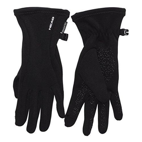Womens Digital Running Gloves(Black) Large Size - Great Gift Idea!