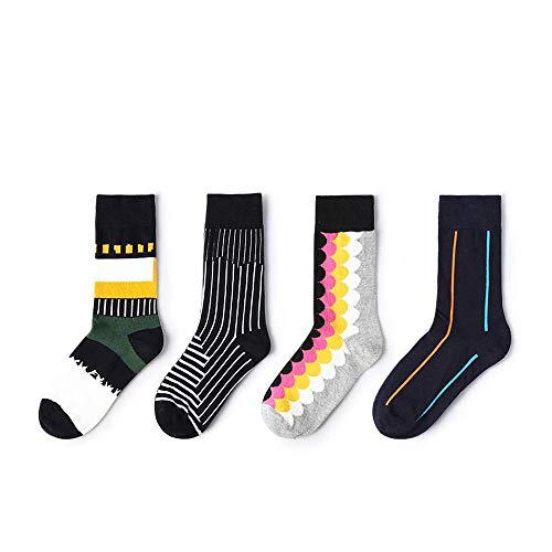 HCZPQJAUI Paar Socken Unregelmäßigen Muster Jacquard