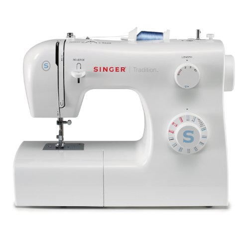 SINGER | Tradition 2259 Sewing Machine with 19 Built-In Stitches, & Easy-To-Use Free Arm - Perfect for Beginners - Sewing Made Easy,White