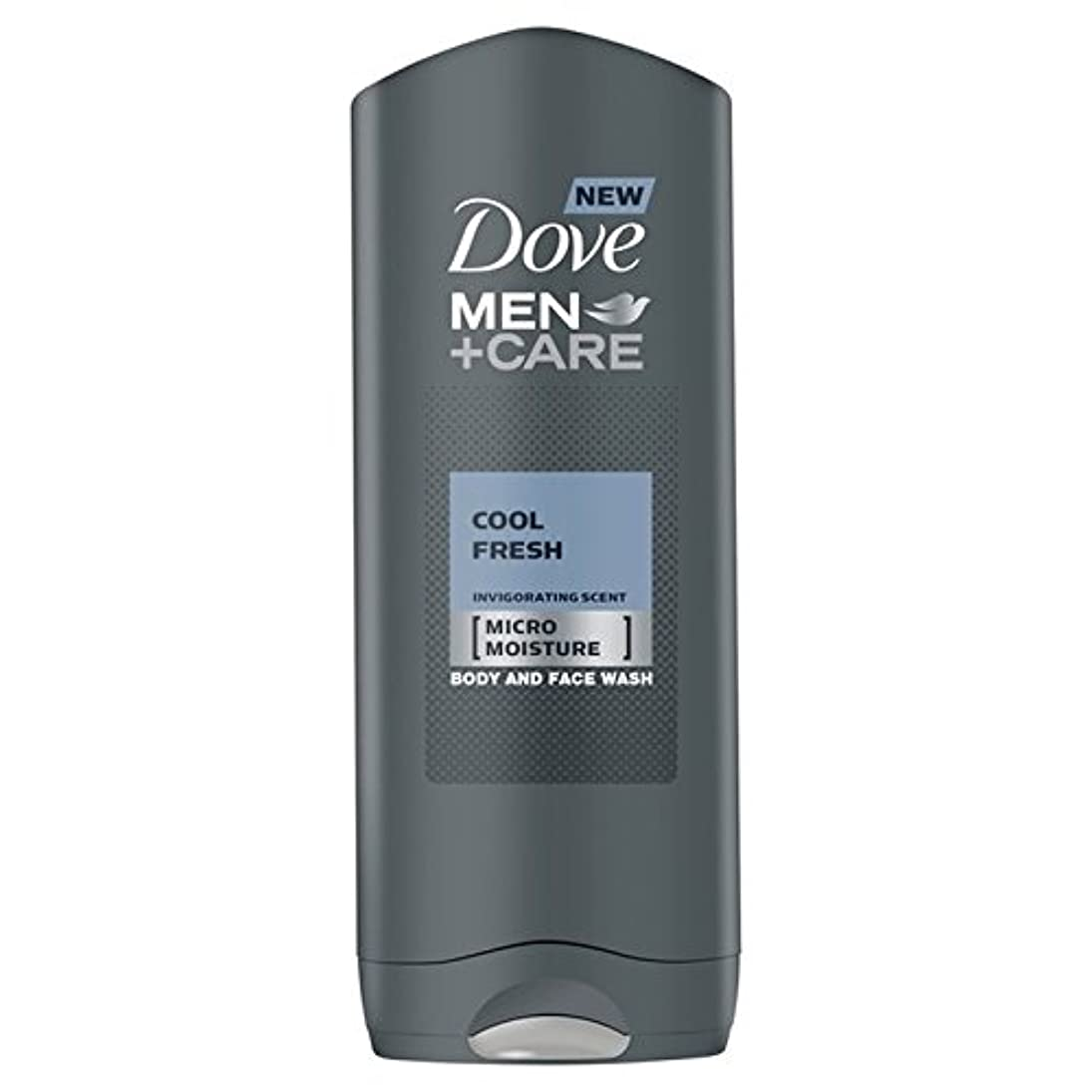 半導体免除する頭クールフレッシュシャワージェル400ミリリットルケア+鳩の男性 x4 - Dove Men+Care Cool Fresh Shower Gel 400ml (Pack of 4) [並行輸入品]
