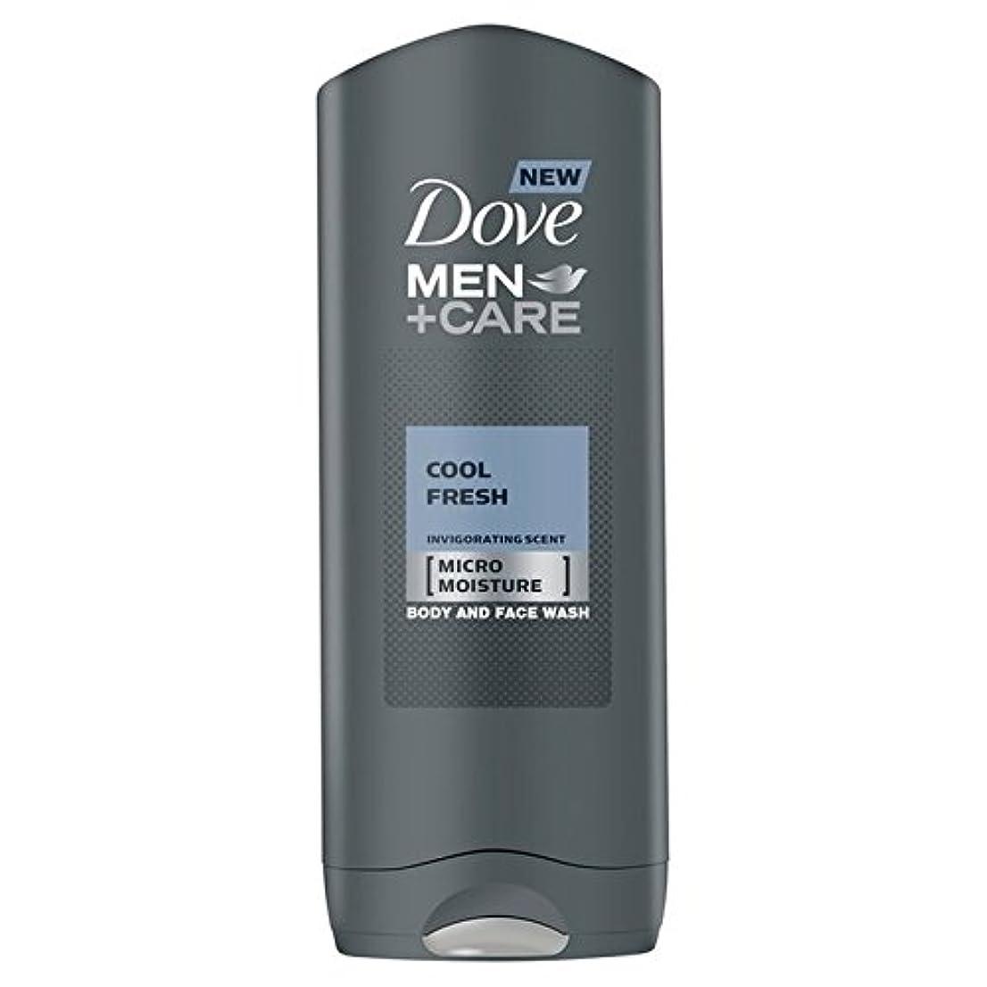 エキスパート八百屋さんラベルクールフレッシュシャワージェル400ミリリットルケア+鳩の男性 x2 - Dove Men+Care Cool Fresh Shower Gel 400ml (Pack of 2) [並行輸入品]