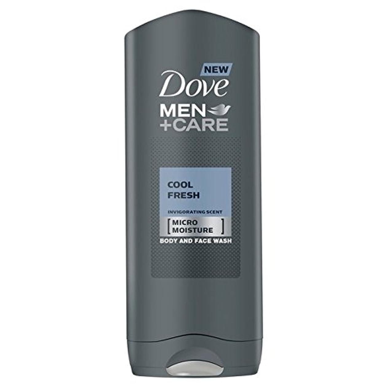失敗影響するミッションクールフレッシュシャワージェル400ミリリットルケア+鳩の男性 x2 - Dove Men+Care Cool Fresh Shower Gel 400ml (Pack of 2) [並行輸入品]