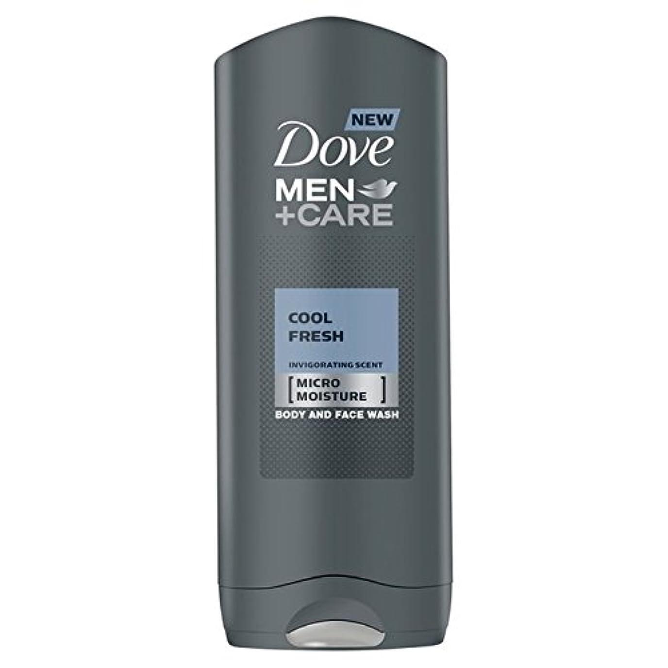 ラックにはまって非常にDove Men+Care Cool Fresh Shower Gel 400ml (Pack of 6) - クールフレッシュシャワージェル400ミリリットルケア+鳩の男性 x6 [並行輸入品]