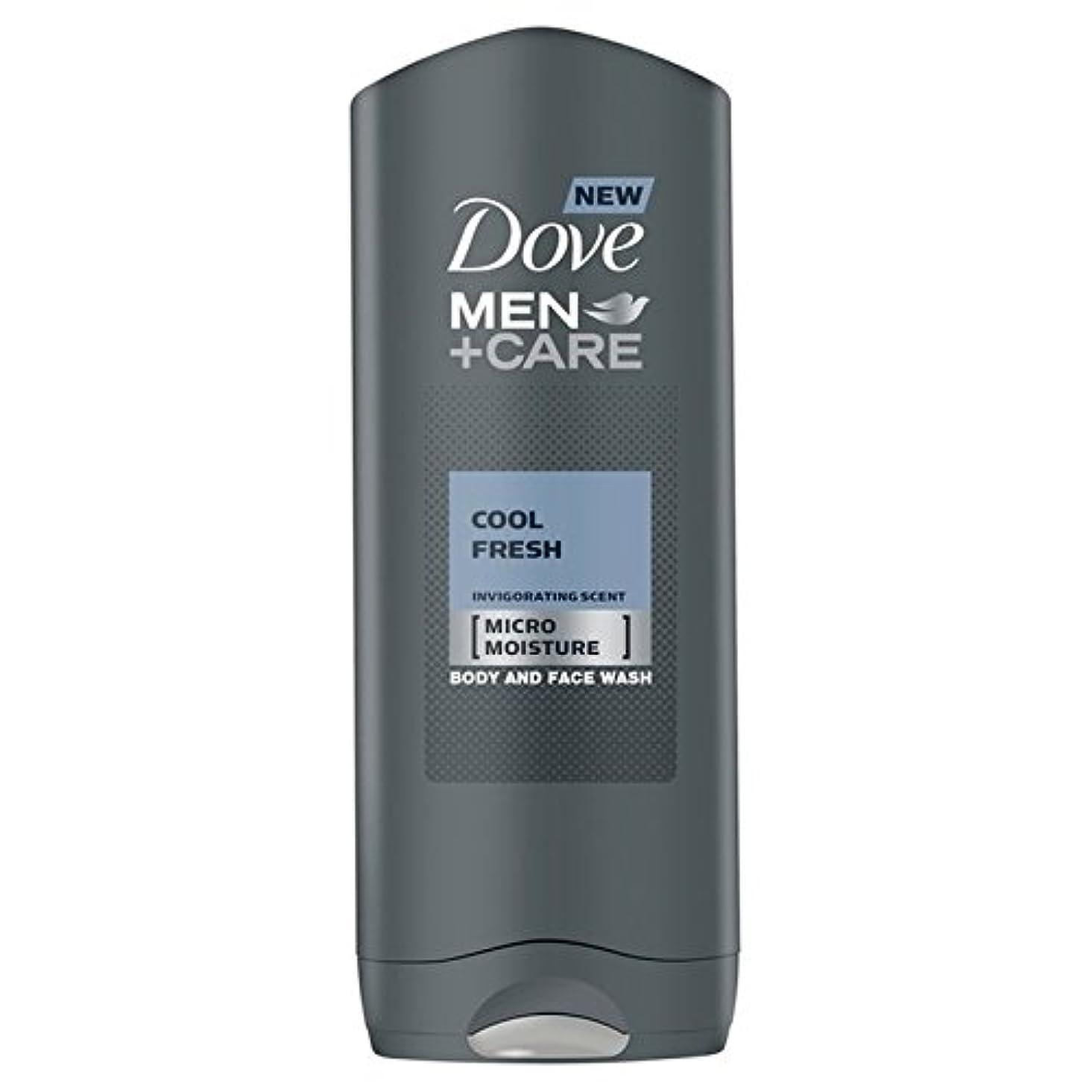 カタログ体細胞ファンクールフレッシュシャワージェル400ミリリットルケア+鳩の男性 x2 - Dove Men+Care Cool Fresh Shower Gel 400ml (Pack of 2) [並行輸入品]
