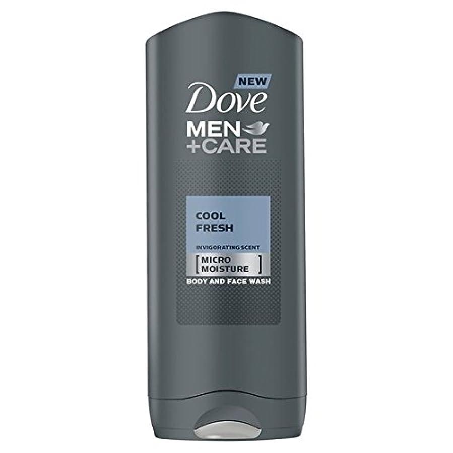 スクレーパーマグ晩ごはんクールフレッシュシャワージェル400ミリリットルケア+鳩の男性 x4 - Dove Men+Care Cool Fresh Shower Gel 400ml (Pack of 4) [並行輸入品]