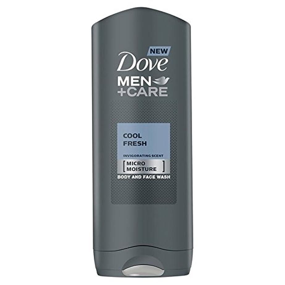 分析欠席貞クールフレッシュシャワージェル400ミリリットルケア+鳩の男性 x4 - Dove Men+Care Cool Fresh Shower Gel 400ml (Pack of 4) [並行輸入品]