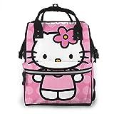 Mochila para pañales – Welcome to My Party multifunción impermeable mochila de viaje maternidad pañales cambiantes bolsas