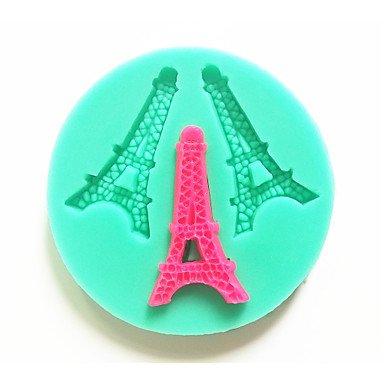 WYFC Backformen Silikon Backformen Eiffelturm für Fondant candy Schokoladenkuchen