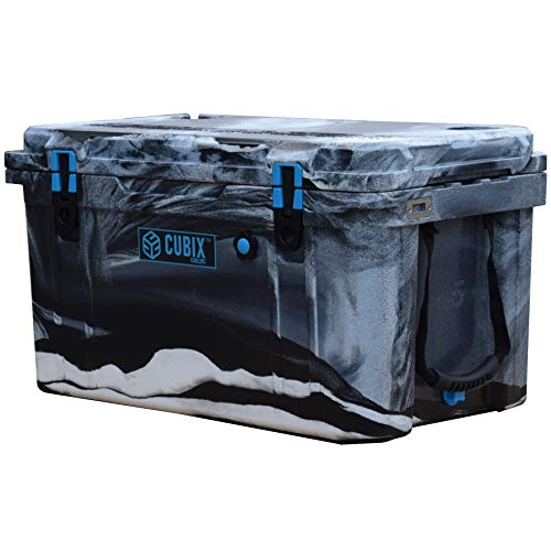 Cubix Camo Cooler 45 Quart | Great for Hunting | Ice Chests and Coolers | Lifetime Rotomolded Ice Cooler | Portable and Hard | Camping, Fishing, Travel, Beach and Patio
