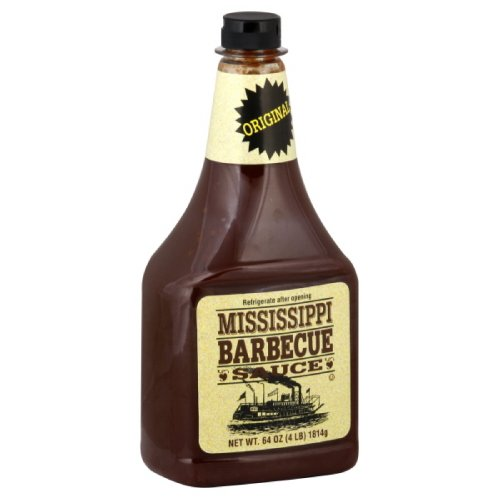 Mississippi BBQ-Sauce Original 1814 g, 3er Pack (3 x 1.814 kg)