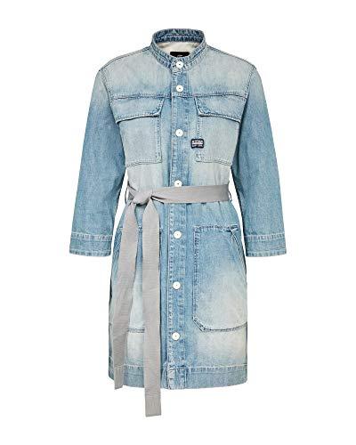 G-STAR RAW Womens Shirt Casual Dress, Vintage Marine Blue 9657-C075, Medium
