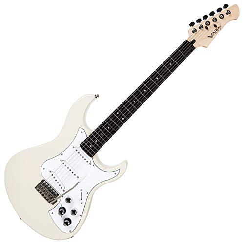 Line 6 Variax guitarra eléctrica estándar blanca con diapasón de ...