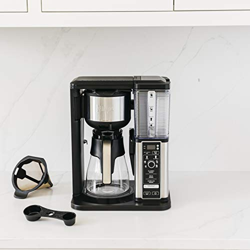 Product Image 14: Ninja Specialty Coffee Maker, with 50 Oz Glass Carafe, Black and Stainless Steel Finish
