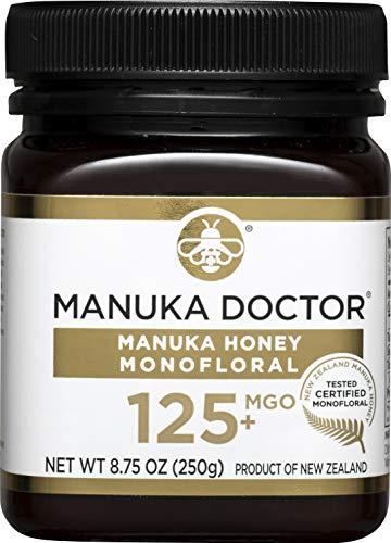 Manuka Doctor MGO 125+ Monofloral Manuka Honey, 8.75 Ounce