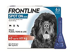 KILLS FLEAS - Fleas jumping onto your treated dog are killed within 24 hours, preventing infestations from building up KILLS TICKS - Ticks latching onto your treated dog are killed within 48 hours, helping to reduce the risk of disease transmission T...