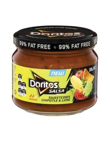 Doritos Salsa Zuckermais und Limette 300g