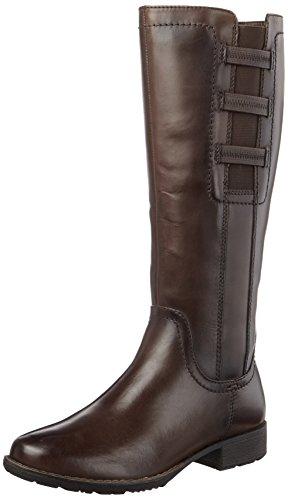 Jana Damen 25601 Stiefel, Braun (Mocca), 38 EU