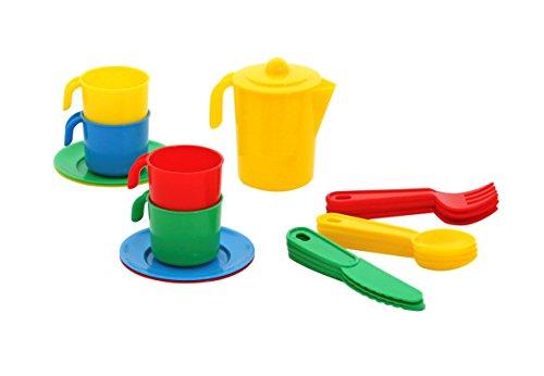 Polesie - Spielzeug-Tee-Sets in Mehrfarbig