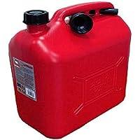MAURER 2325590 Bidón gasolina (20 litros, homologado), rojo