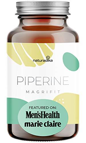 MAGRIFIT PIPERINE - Suplemento Para Dieta - Curcuma Con Jengibre Y Pimienta Negra - Enriquecido con Yerba Mate y Probioticos