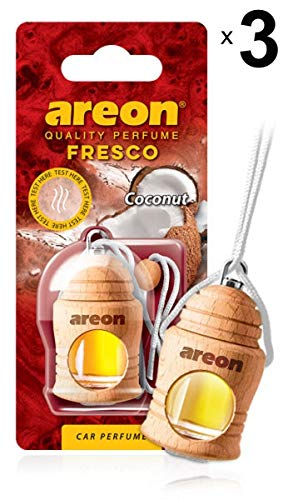 AREON Fresco Ambientador Coche Coco Olor Fruit Tropical
