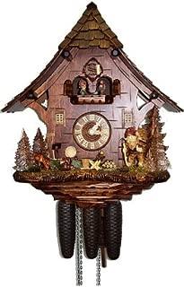 August Schwer Cuckoo Clock Gnome House