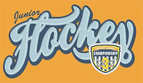 INDIGOS UG - Aufkleber/Autoaufkleber - Baby Kinder - Hockey-Meisterschaft - 171x99 - Auto/Laptop / Schrank/Bücher