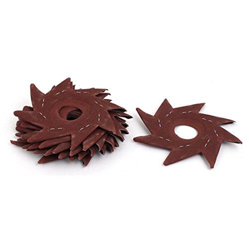 Affordable Aexit 120 Grit Abrasives 5 Pinwheel Shaped Octagonal Abrasive Sandpaper Sanding Buffing ...