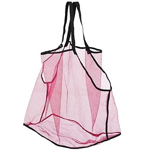 Mesh strandväska för leksaker sandväska för barn simbassäng resor sandskor våta handdukar strandverktyg simtillbehör