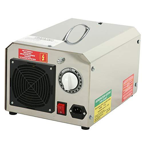 Bastionshop Generador de ozono profesional, 7 g/10 g/14 g, dispositivo de ozono para aire (7 g/7000 mg)