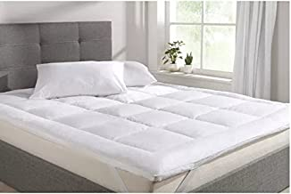 AVI Super Soft 500 GSM Mattress Padding/Topper for Comfortable Sleep -White -6ft x 6.5ft - King(72x78inch)