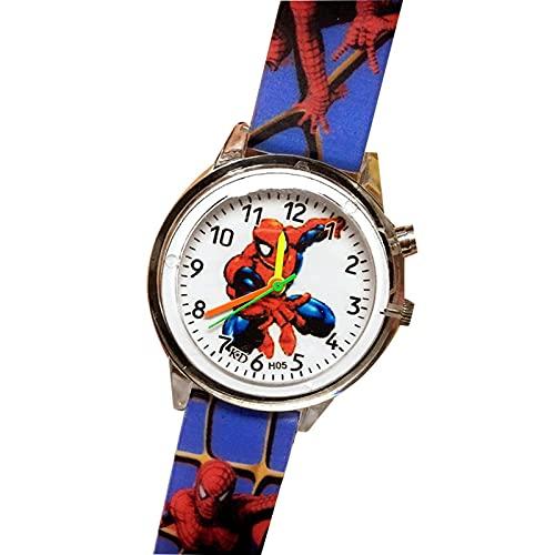 Reloj Niño Yuan Ou Reloj de Pulsera de Cuarzo con Correa de Silicona con Estampado de niño de Dibujos Animados para niños, Reloj de Pulsera para niños, Relojes para niños 5