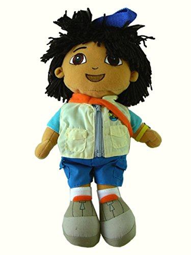 13in Go Diego Go Plush Stuffed Animal Backpack