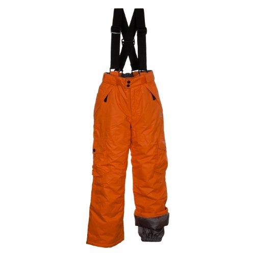 Dare 2b kinderschakelaar over ski-broek – oranje fizz