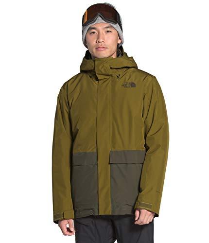 The North Face Clement Triclimate - Giacca da uomo, taglia XL, colore: Verde talpa