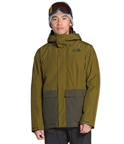 The North Face Men's Clement Triclimate Jacket - Asphalt Grey & TNF Black - S