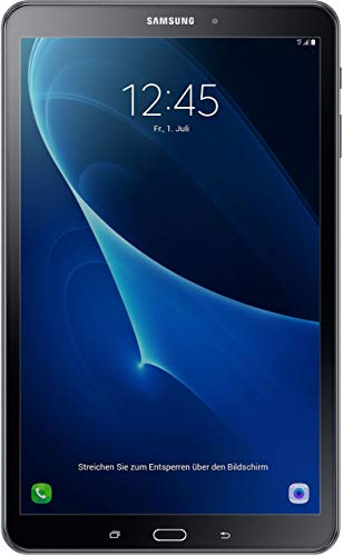 Samsung Galaxy Tab a SM de T58025,54cm (10,1pulgadas) Tablet PC (1,6GHz Octa Core, 2GB de RAM, 32GB eMMC (Certificado y General para embragues) negro Negro 32 GB