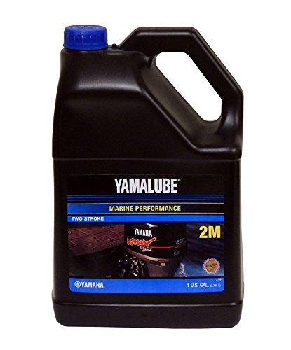 Yamalube LUB-2STRK-M1-04 2M Outboard TC-W3 2-Stroke Engine Oil (CASE OF 4)