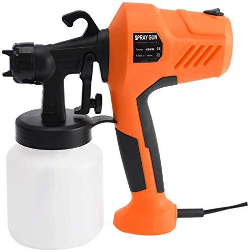 Rociador de pintura, pistola rociadora eléctrica de 400 W, rociador de mano...