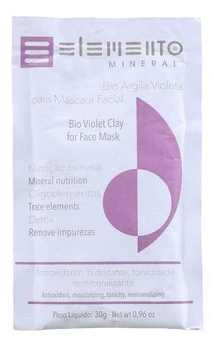 Elemento Mineral Bio Argila Violeta - Máscara Facial 30g Blz