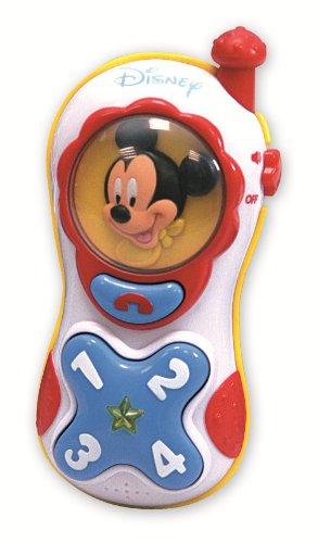 Clementoni - 14278 - Jouet Premier Age - Bébé Disney - Téléphone Lumière Et Sons Mickey