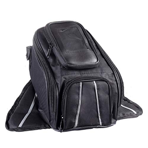 TUXI Motorcycle Tank Bag Saddle Bag Water Repllent Storage Bag Large Capacity Saddlebags Tool Bag