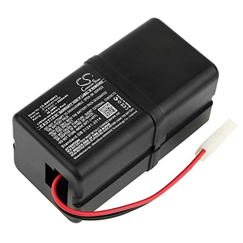 2600mAh 14.8Volts Replacement Battery for Bobsweep Bob PetHair, Junior, WJ540011