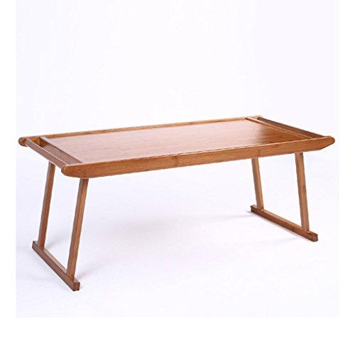Klapptisch KKY-Enter Natürliche Bambus Holz Home Wohnzimmer Schlafzimmer Balkon Kleiner Couchtisch Antik Kung Fu Tee Tisch Student Schlafsaal Schreibtisch L76 * W43 * H29cm