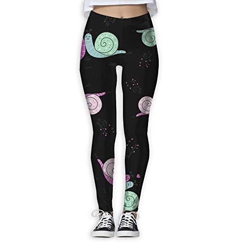 KLing Schnecke liebt Tape Dispenser Geschenk Frauen Workout Running Gym Strumpfhosen Leggings hohe Taille Yoga Hosen Hosen,XL