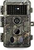 GardePro A3 Trail Camera (2020), 20MP, 1080P H.264 HD Video, Clear 100ft No Glow Infrared Night Vision, 0.1s Trigger Speed, 82ft Motion Detection, Waterproof Cam for Wildlife Deer Game Trail