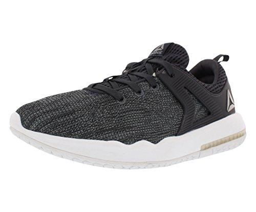 Reebok Men's Hexalite X Glide Fashion Sneaker, Asteroid Dust/Lead/White/Pewter, 8.5 M US